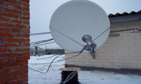 Cпутниковое телевидение и интернет 8904